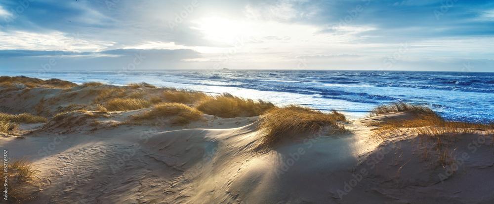 Fototapety, obrazy: Dänische Nordseeküste