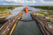 canvas print picture - Panama Canal