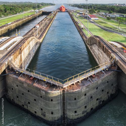 Fotografie, Obraz  Panama Canal