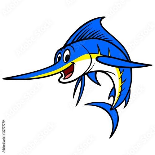 Photo  Swordfish Cartoon