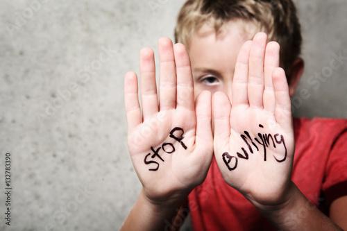 Stop Bullying Wallpaper Mural