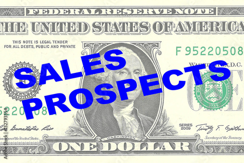 Wall Murals Newspapers Sales Prospects - financial concept