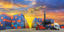 Industrial Container Yard For ...