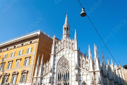 Fotografiet  Roma, Chiesa del Sacro Cuore del Suffragio