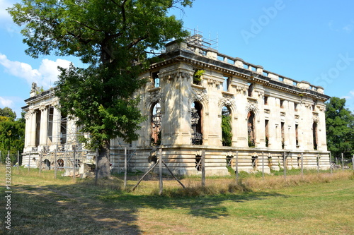 Poster Ruine Little Trianon - ruins of the Gheorghe Grigore Cantacuzino s palace.