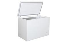 Open Freezer Isolated