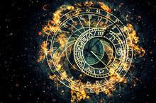 Famous Astronomical Clock At P...