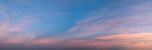 Vibrant Panoramic Sky On Twili...