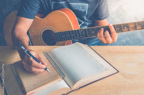 Fototapeta  guitar composion