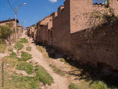 Papiers peints Amérique du Sud Local road