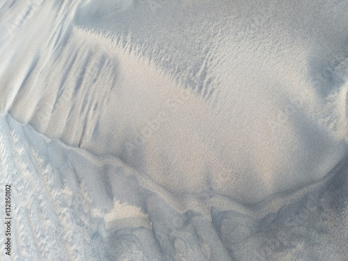 Photo Natural silver sand background