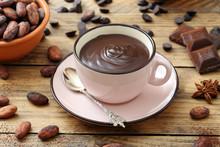 Tazza Di Cioccolata Calda Fond...