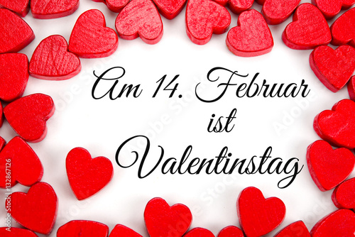 Am 14 2 Ist Valentinstag Buy This Stock Photo And Explore Similar
