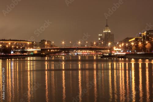Papiers peints Paris Big Krasnokholmsky bridge
