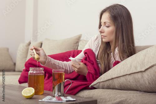 Photo  Honey in my tea