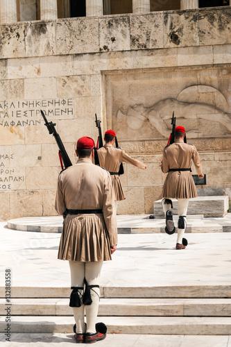 Athens, Greece -September 22: 2016  Evzones, the elite