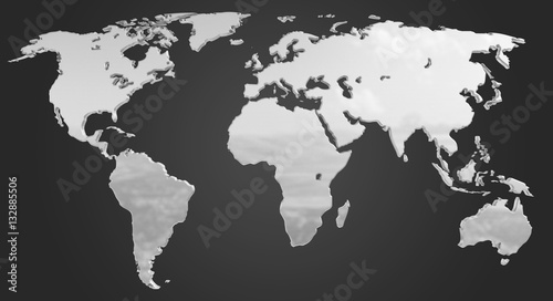 Chromatic World Map