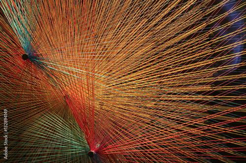 Fotografía colored thread
