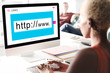 Website Domain Internet HTTP WWW Graphic Concept