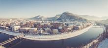 Stadtpanorama Salzburg, Salzac...