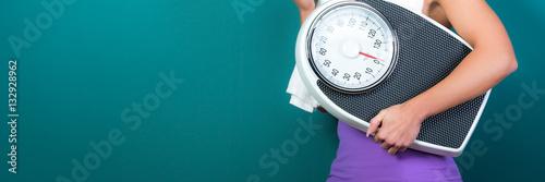 Fotografia  gewichtskontrolle