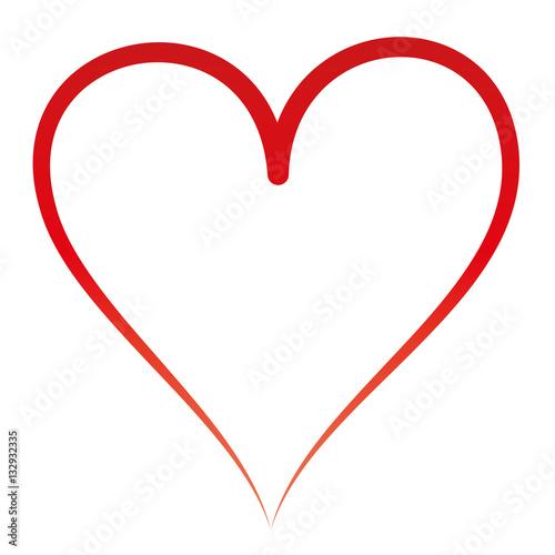 Rotes Herz Symbol Der Liebe Freundschaft Und Treue Romantik Kalligraphie Kalligrafisch Buy This Stock Vector And Explore Similar Vectors At Adobe Stock Adobe Stock