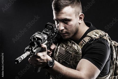 Fotografía  USA Delta special forces