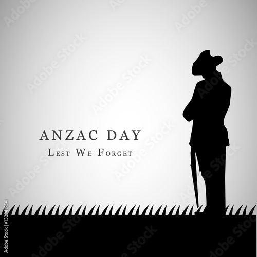 Anzac Day background Wallpaper Mural