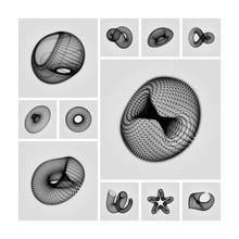 Geometric Shape For Design. 3D...
