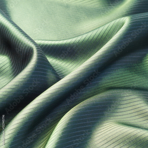Fototapeta green striped fabric. texture obraz na płótnie