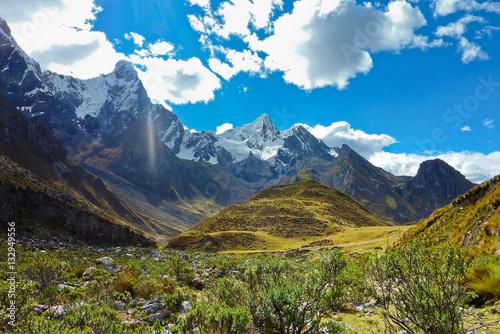 Cordillera of the Andes, Peru Canvas Print