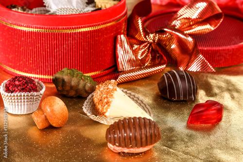 Foto op Aluminium Snoepjes конфеты ручной работы