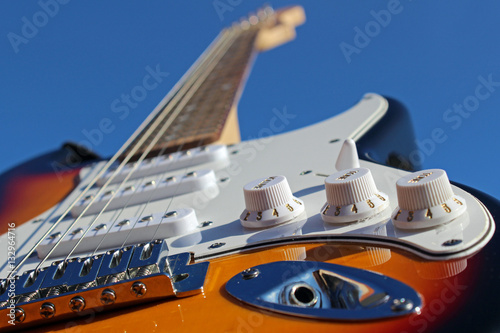 Photo  Guitarra eléctrica (Fender Stratocaster)