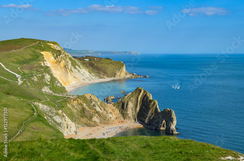 Durdle Door and the Jurassic Coast Poster