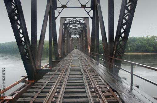 Valokuva  Railroad Bridge