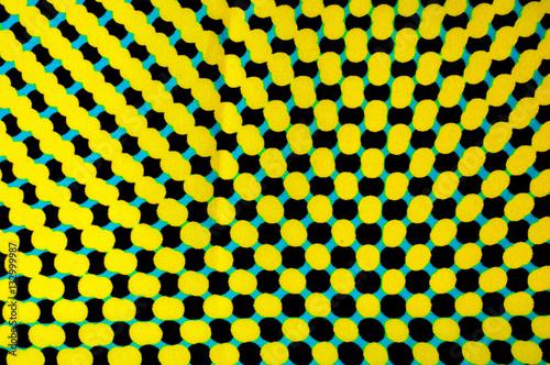 Fotografie, Obraz  Woven COLOURS surreal. tissue, textile, cloth, fabric, material,