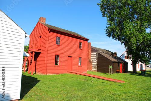 Fotografie, Obraz Harrison mansion historic site in Vincennes,Indiana