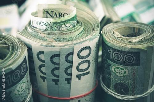 Fotomural  Polish Zloty Cash Rolls