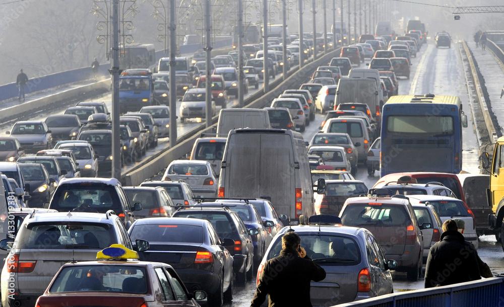 Fototapety, obrazy: Traffic jam