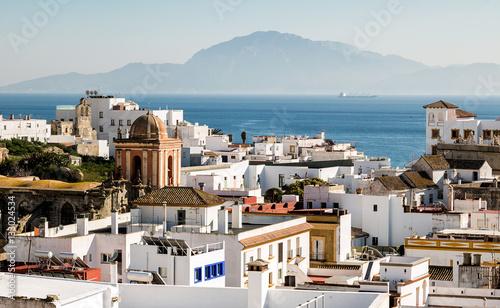 Fotografía  Village of Tarifa, located in the Strait of Gibraltar