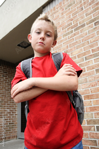 Fotografie, Obraz  Mean boy