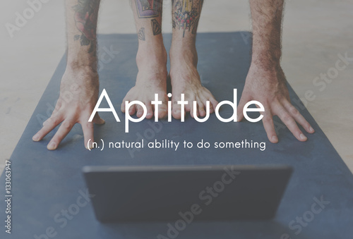 Aptitude Natural Human Ability Graphic Concept Canvas Print