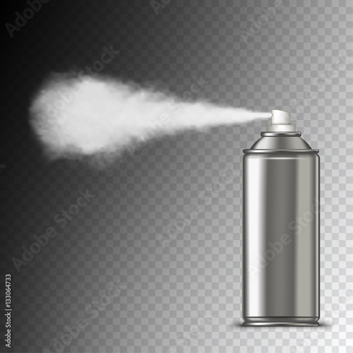 Photo Spraying out of can
