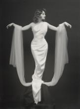 Art Nouveau Portait Of Bride