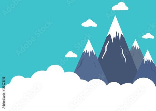 plaskie-szczyty-gorskie-powyzej-chmur