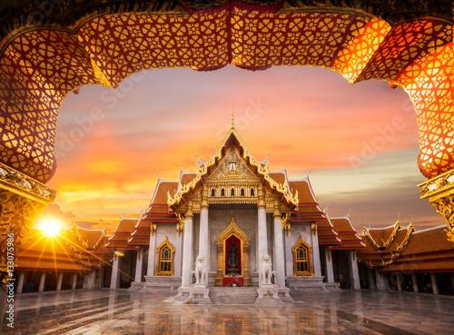 Keuken foto achterwand Temple Wat Benchamabopitr Dusitvanaram