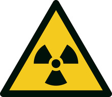 ISO 7010 W003 Warning; Radioactive Material Or Ionizing Radiation