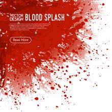 Blood Splash Background Webpa...