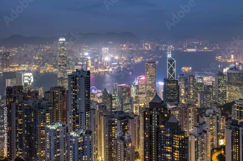 Photo  Victoria harbor : Hong Kong