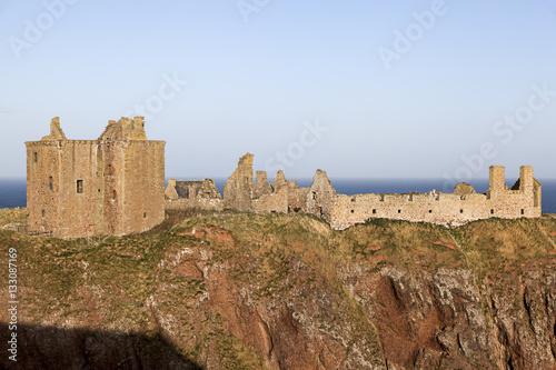 Dunnottar Castle in Scotland near Stonehaven Poster